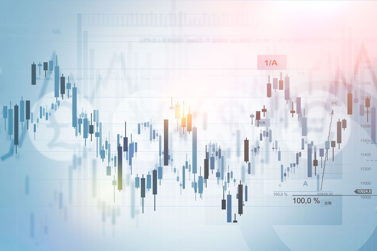 51601768 - forex trading index concept background illustration. financial background.
